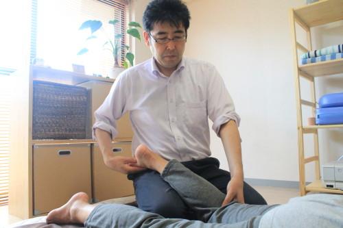 恵比寿の整体師、膝痛。片足立ちで本当にびっくり