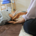 恵比寿の整体師、膝痛。順調、暑さが吹っ飛ぶ