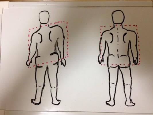 菱形整体法肩腰2