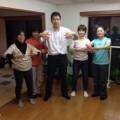 5月9日(土)和の身体法セミナー開催。足裏に良い姿勢を覚えて貰います。