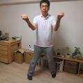 疲れない歩き方は丹田意識できる。