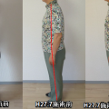 症状改善の見える化、姿勢で分かります。