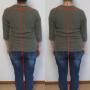 背骨は右に曲がりやすく右の腎喩を圧迫し、腎気が減ります。