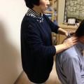 気功整体講座で、添え手気功療法は日本料理と同じ。