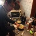 恵比寿の整体師、料理を作る?。