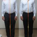 靴下を履こうとしたらぎっくり、腰痛。整体後の体の変化で分かること。