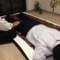 気功整体講座を行いました。つい、うたた寝です。