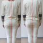 整体でお尻が小さくなる。腰回りの筋肉をコルセットにする姿勢効果
