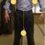 腰痛に効く。肩、脇、股の三つの円で和の姿勢と気功