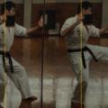酷い肩こりは伝統空手と中国武術意拳の融合が効きます。