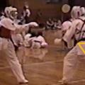 気功的和の身体法。蹴り突き一拍子、臍下丹田面意識。(日本伝空手極意編2)