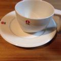 イッタラーのカップ。コヒーが美味しい。