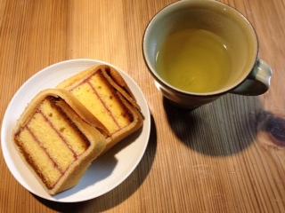 クッキーマッキーとお茶