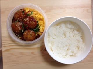 つくね玉子丼アトレスーパー成城石井 2
