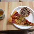 恵比寿のマナブ整体院、周辺ランチ。ミックスピザ、キャラメルパイ