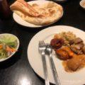 気功の後はインド料理